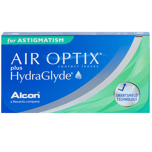 Air Optix Plus Hydraglyde for Astigmatism